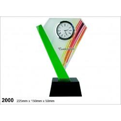 Crystal Clock Series 2000