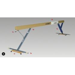 Balance Beam - Olympic/F.I.G